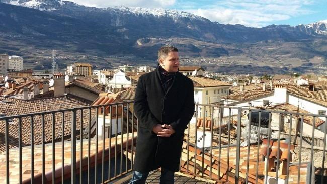 Marco Amadori en el criptovalle de Rovereto