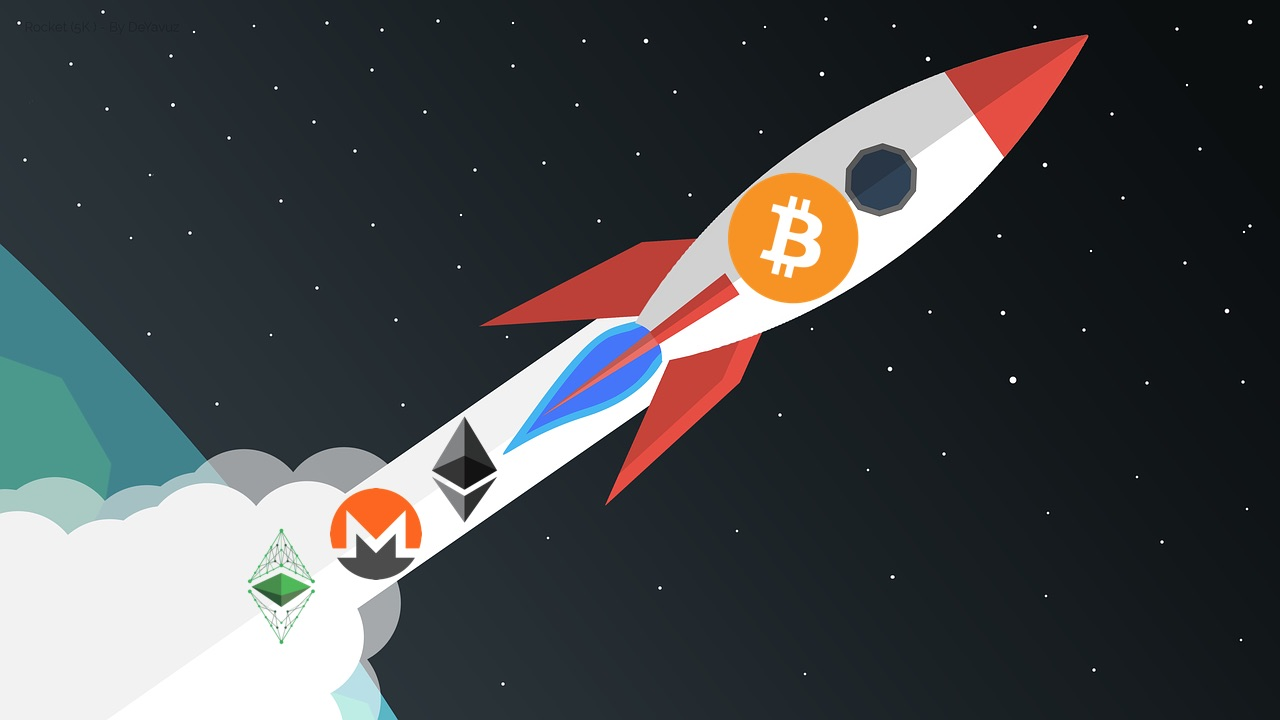 capitalización de mercado, criptomonedas, altcoins, ethereum, bitcoin, monero, ethereum