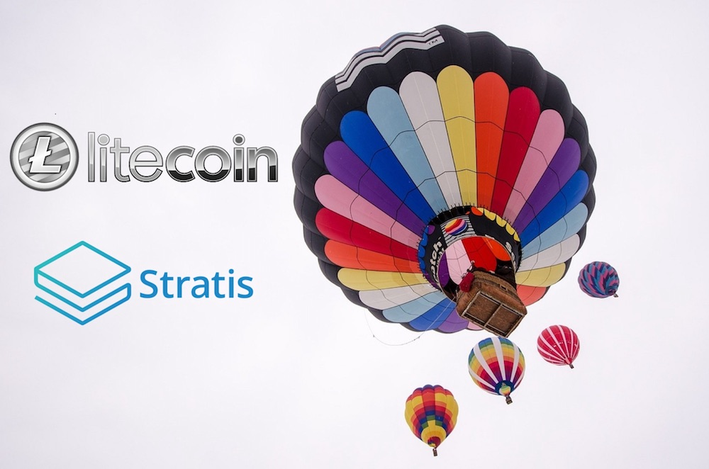 Litecoin LTC Stratis Criptomonedas