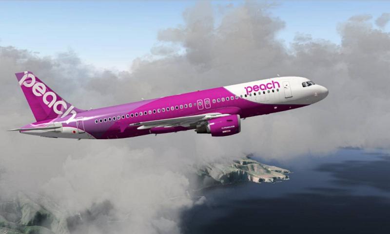 Peach-aerolínea-Japón-Bitcoin