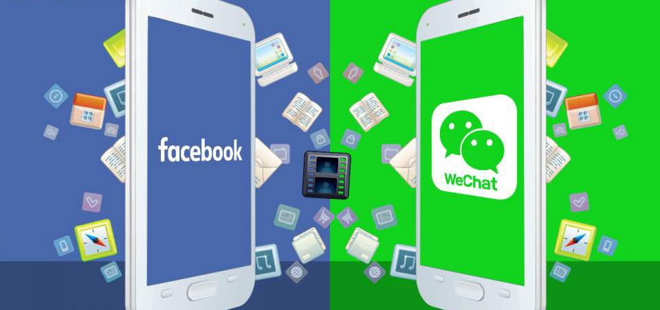 Facebook Wechat
