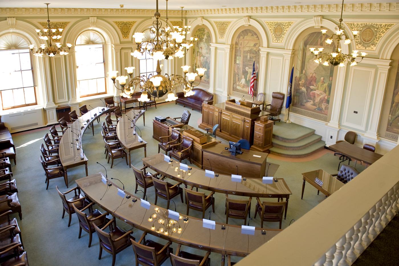 Senado NewHampshire Impuestos