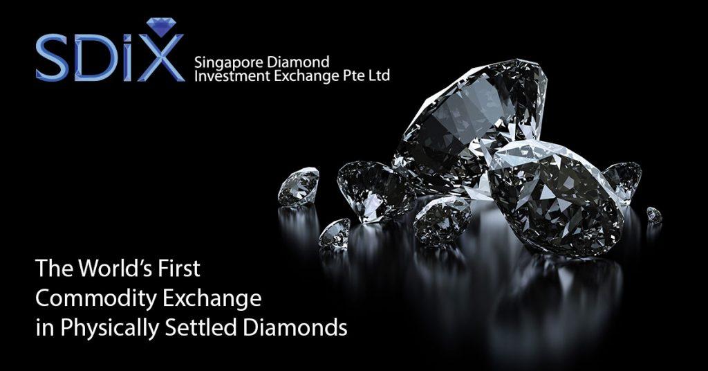 diamantes, blockchain, dlt, singapore diamond investment exchange, singapur, everledger, aplicaciones, kyneti, registro, comercio, mercado, sdix