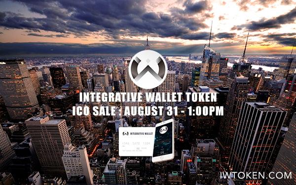 integrative wallet, iwtoken, ico