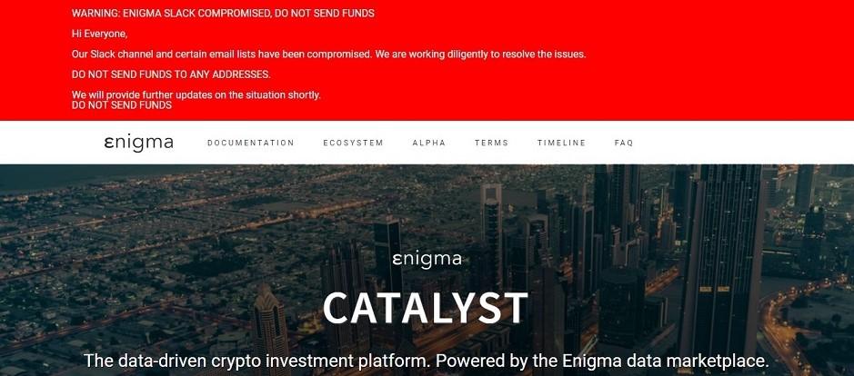 Enigma Catalyst-Hackers-Ethereum-Seguridad