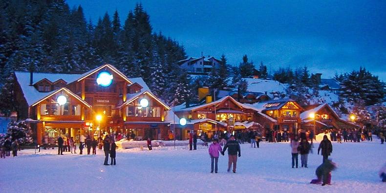 San Carlos de Bariloche en invierno. Fuente: Welcome Argentina