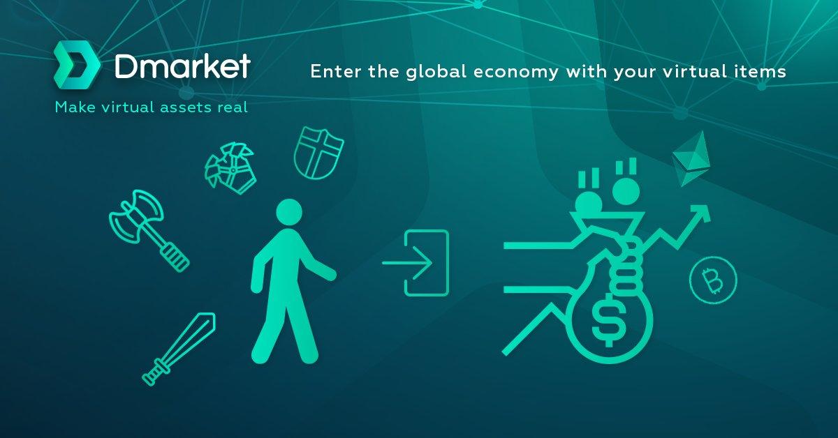 dmarket-bitcoin-ethereum-blockchain-app