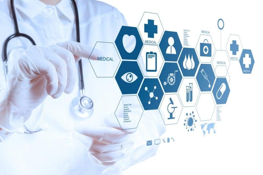 salud, medicina, blockchain, aplicaciones, contabilidad distribuida, plataformas