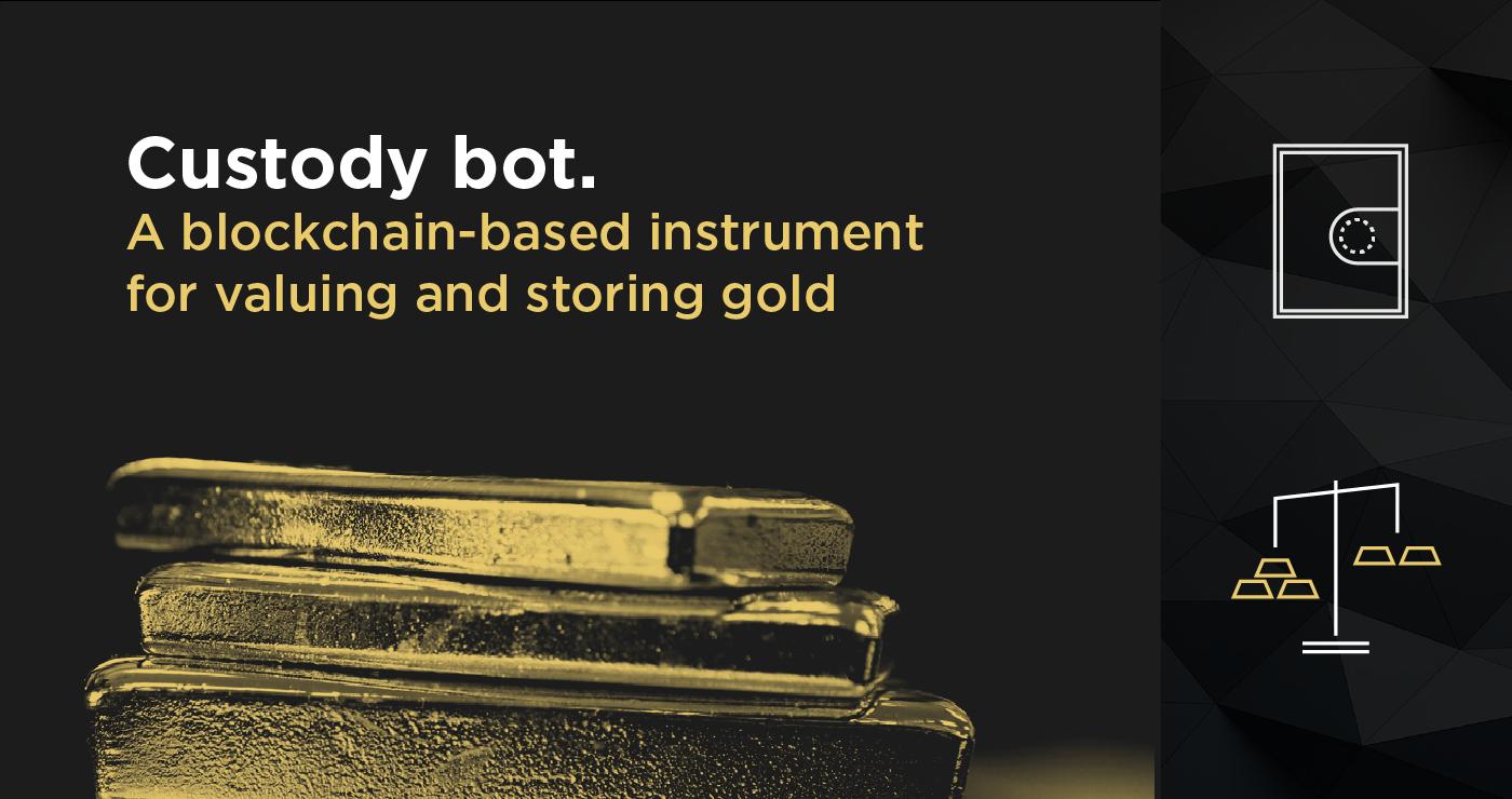 oro, goldmint, custody bot, iniciativa, startup, aplicaciones