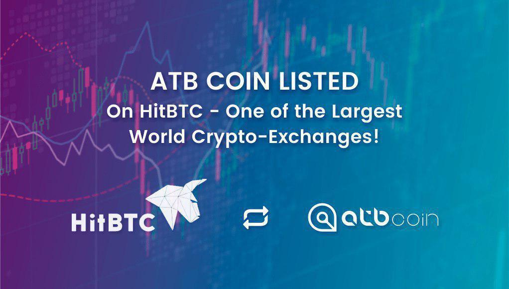 atb coin, hitbtc, casa de cambio, tokens