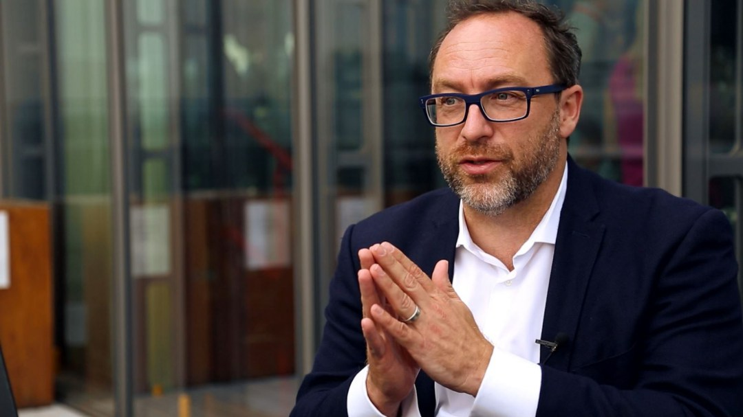 jimmy wales, wikipedia, ico, blockchain