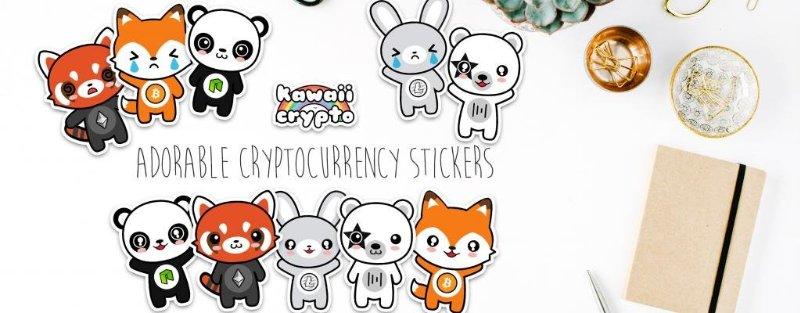 Stickers-criptomonedas-Kawaii-Crypto