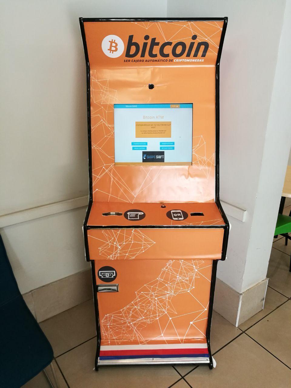 Bitcoin Cajero Chile Santiago CryptoNight