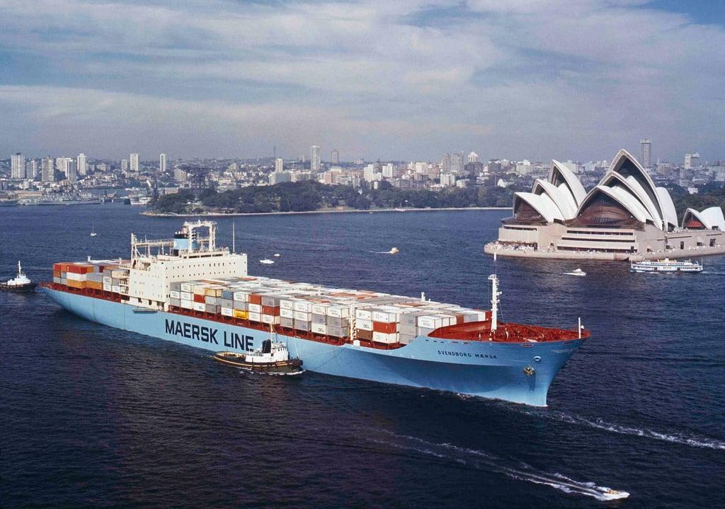 Maersk IBM Blockchain Fabric