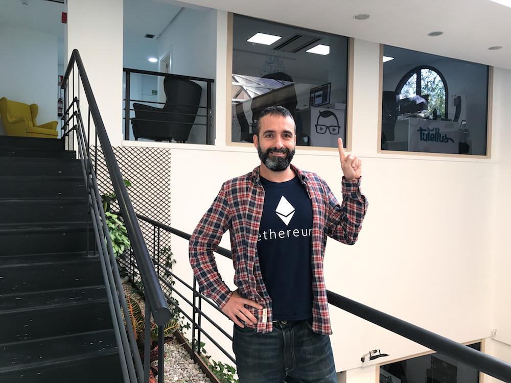 Miguel Caballero Tutellus.io Blockchain