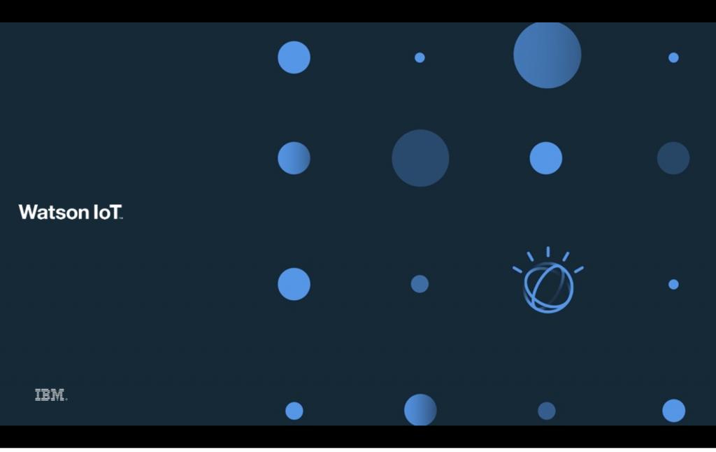 IBM IoT Watson Blockchain