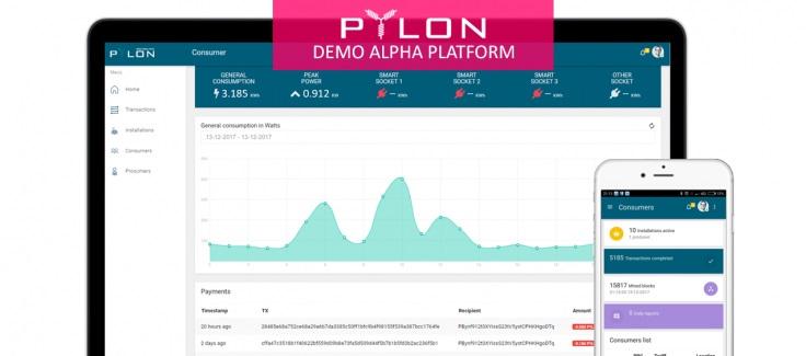 pylon network-demo-blockchain-energia-energia renovable