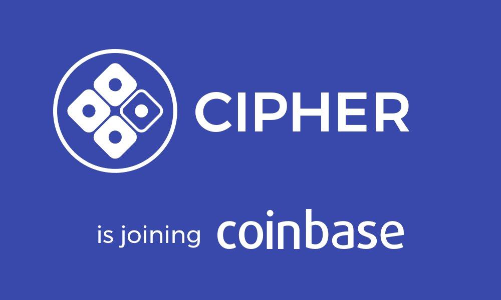 Cipher Coinbase Blockchain Criptomonedas