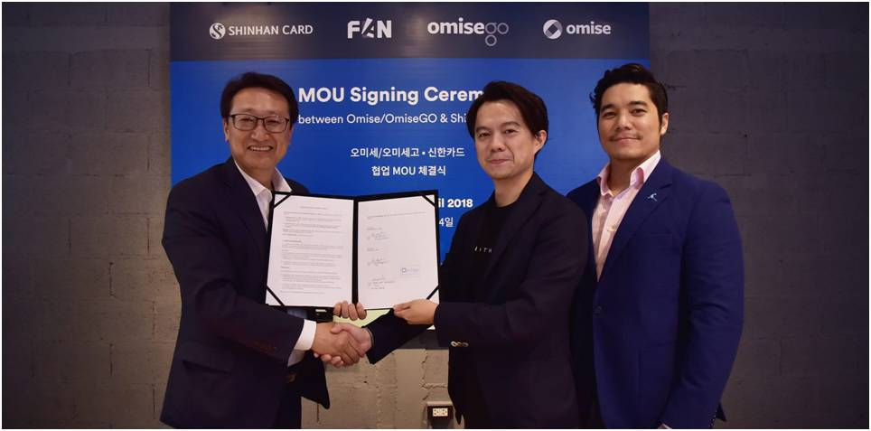 OmiseGO-Shinhan-Corea-Pagos