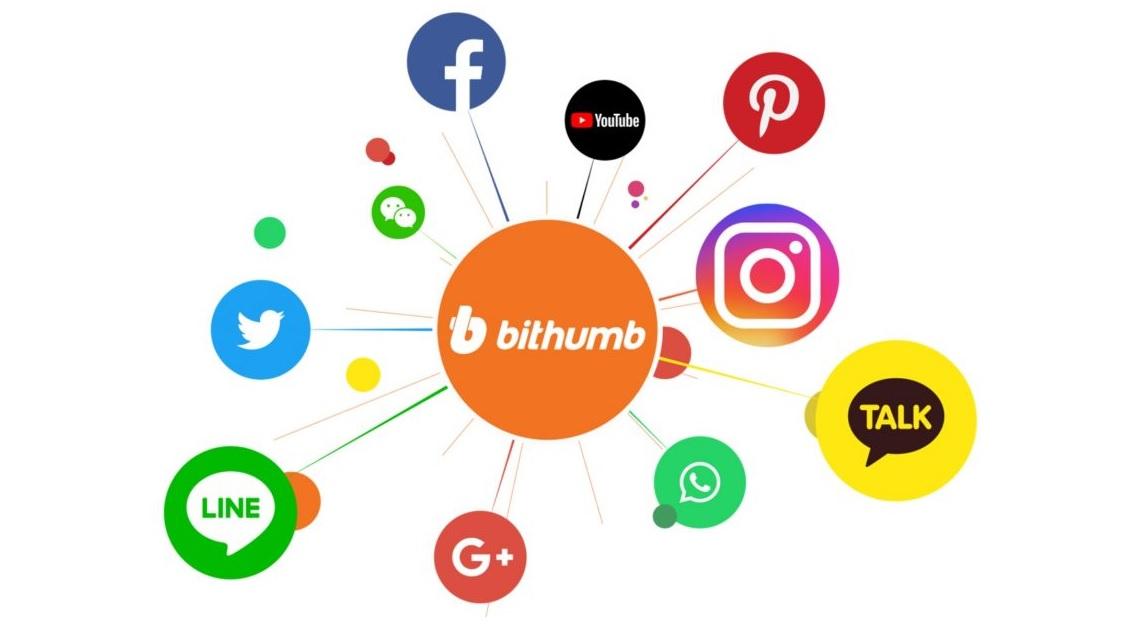 bithumb-redes sociales-criptomonedas-pagos-cupones