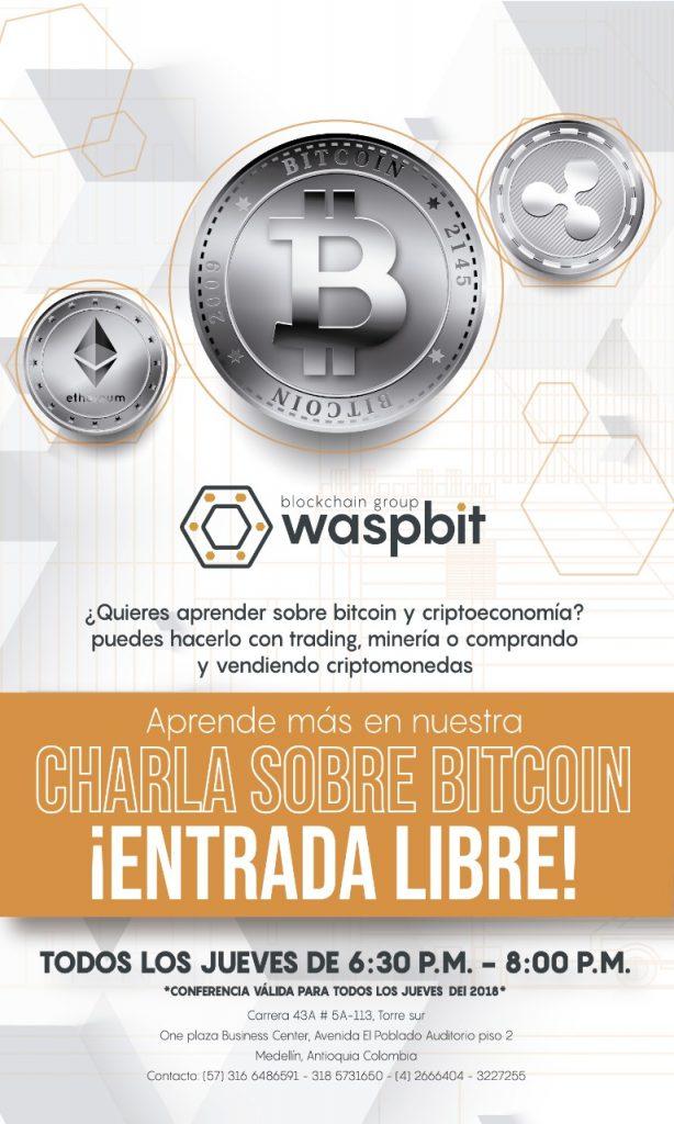 Charla-criptomonedas-Waspbit-Medellín