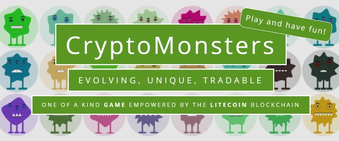CryptoMonsters-juego-coleccionables-litecoin