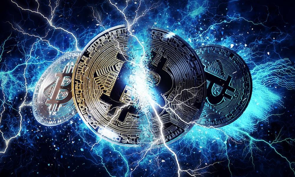 Bitcoin Criptomoneda Blockchain Lightning