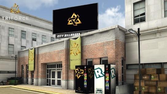 Triforce-Token publicidad dinámica