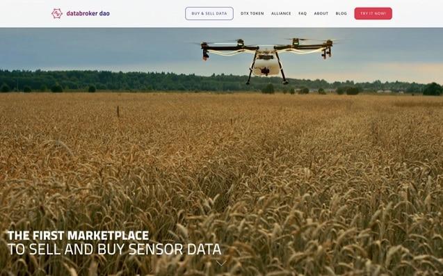 DataBroker DAO Mercado de datos IoT