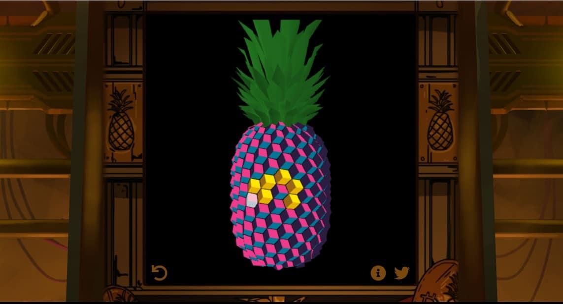 pineapple arcade-juego-criptogramas- bitcoin