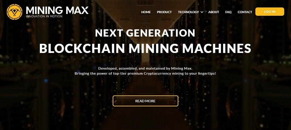 Mining Max - estafas con criptomonedas -