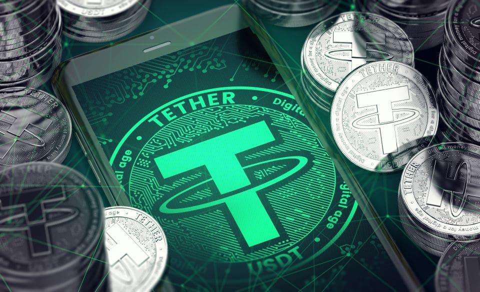 tether - 78pc - monedas - ancladas