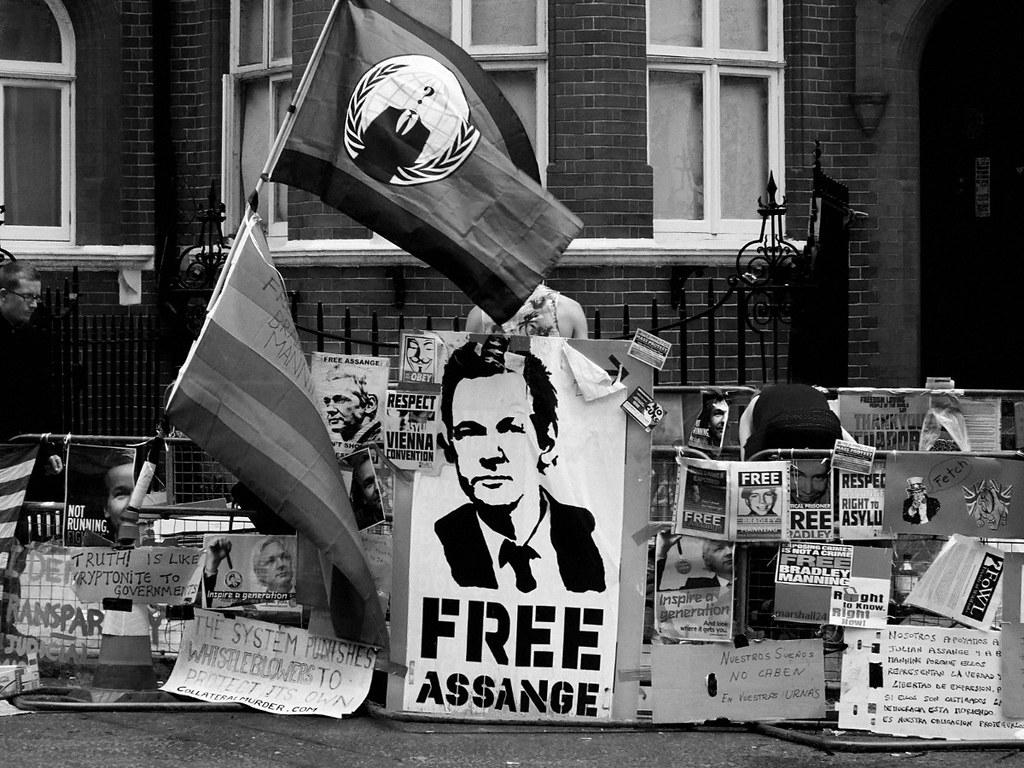 Assange-donativos-bitcoin-arresto-Wikileaks