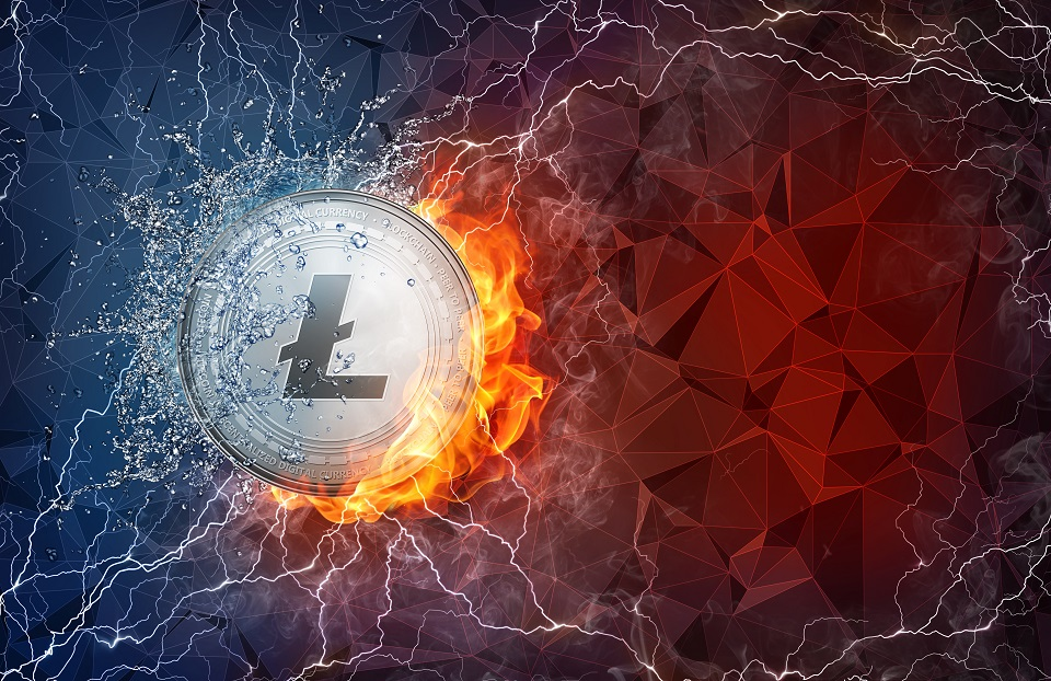 Litecoin-poder-hash-histórico