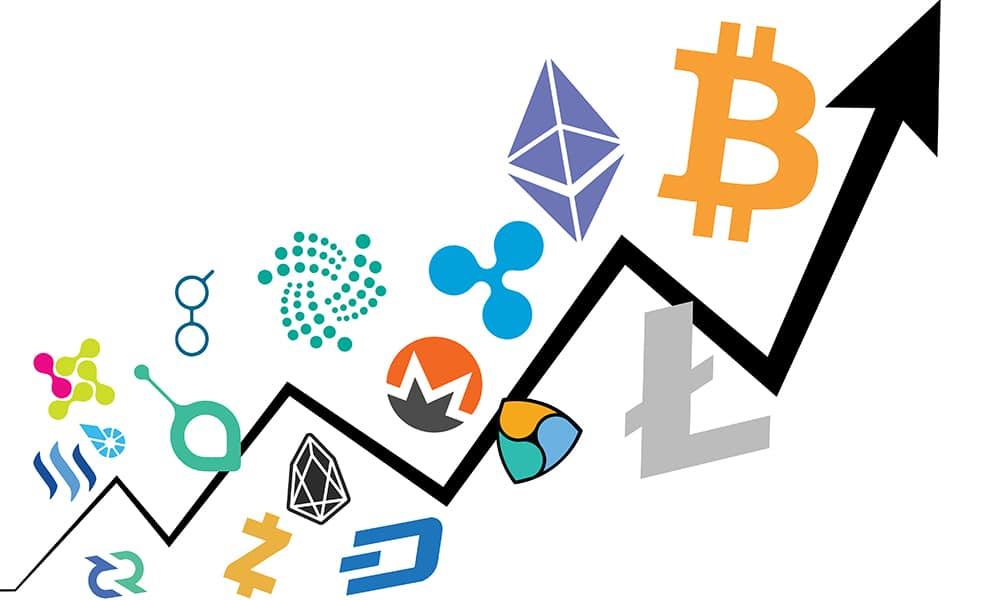 mercados criptomonedas aumento