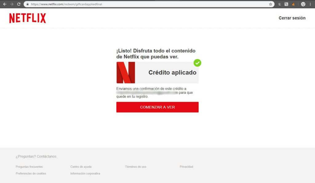 How to recharge your Netflix balance using the encryptions