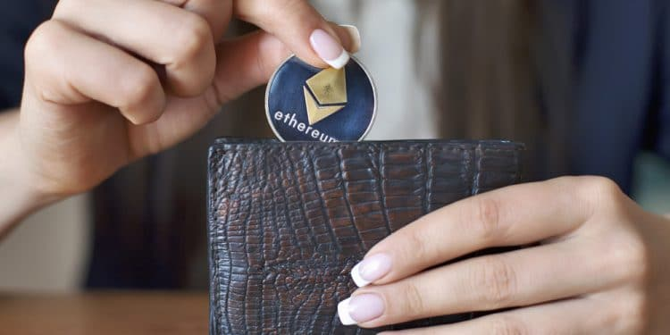 Ethereum-Bitcoin-transacciones-volumen-bajo