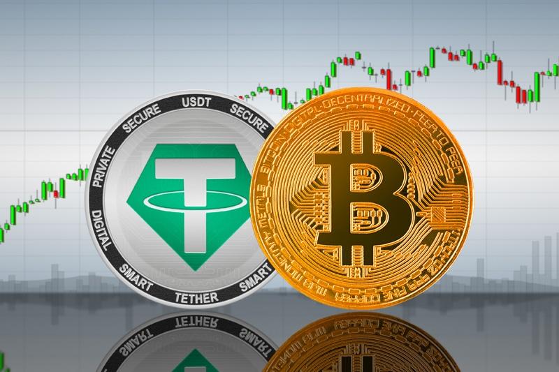 Las stablecoins como Tether se han hecho más populares y demandadas frente a la caída de Bitcoin. Las implicaciones de ello son muchas para quienes no consideran adecuado el riesgo de invertir en esta última. Fuente: BlockchainLatinoamerica