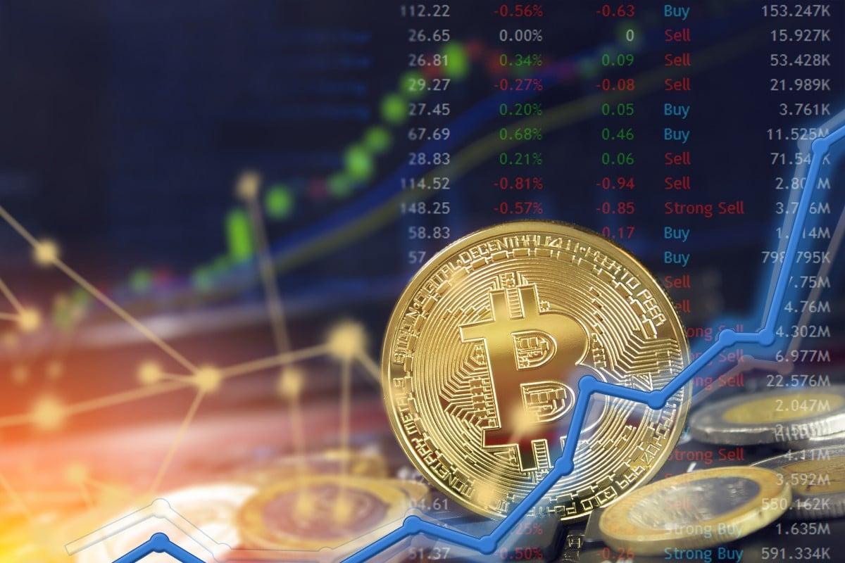 bitcoin în accident de piață