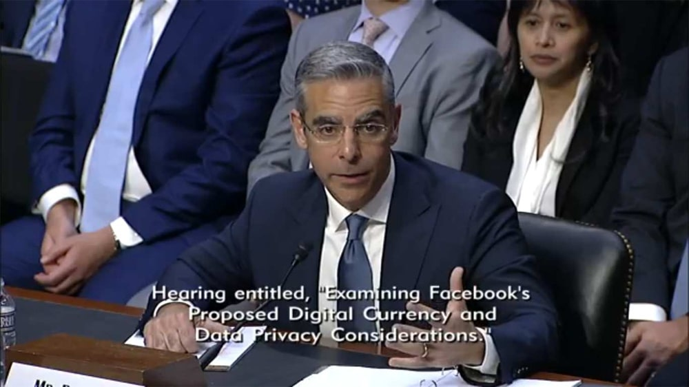 Facebook Congreso Estados Unidos Libra Criprtomoneda