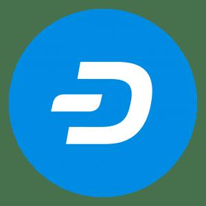 Logo Dash Criptomoneda Blockchain