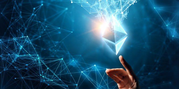Ethereum-transacciones-aumento-blockchain-cuarto-aniversario