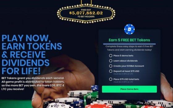 EOSBet.io renueva apariencia y agrega soporte para Bitcoin Cash