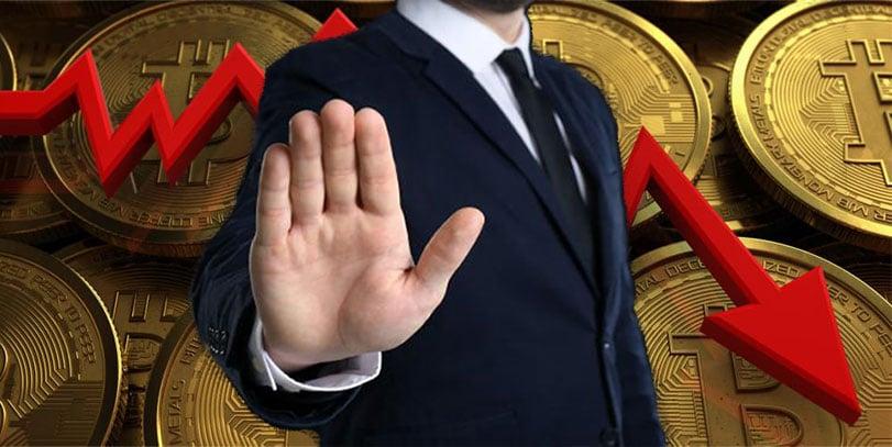 caída precio bitcoin