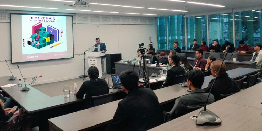 Bogotá blockchains universidades