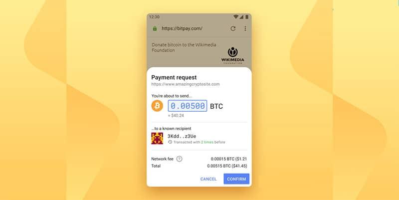 pago-bitcoin-navegador-opera