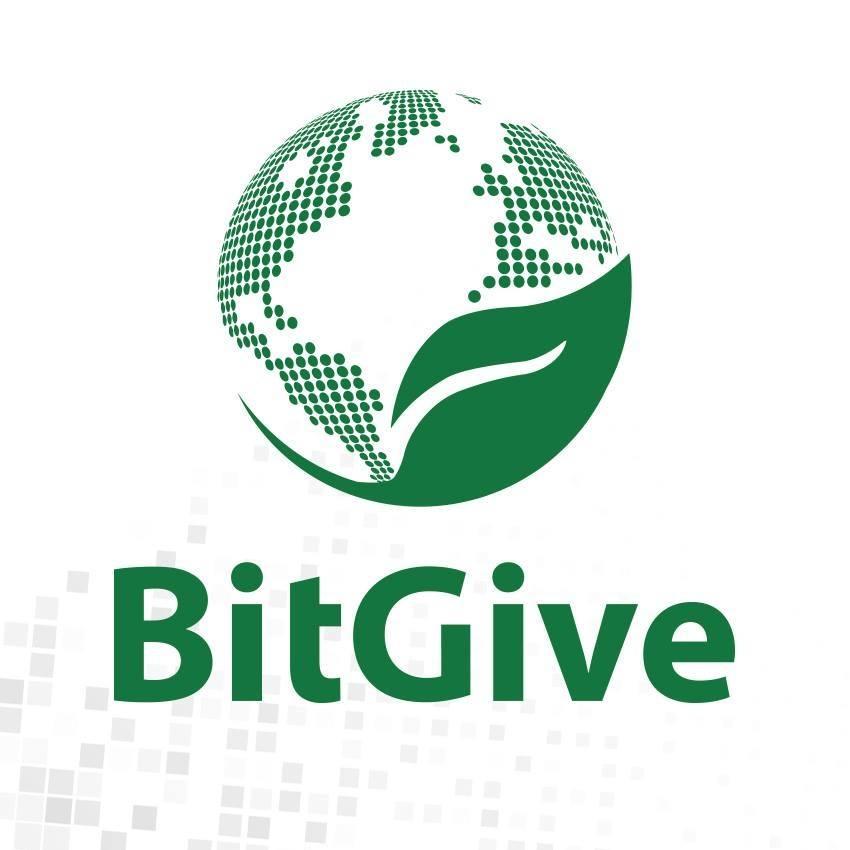 Logo de BitGive. Fuente Facebook BitGive