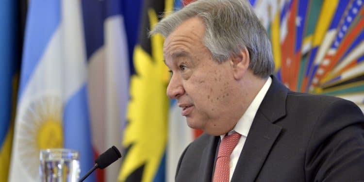 António Guterres ONU blockchain