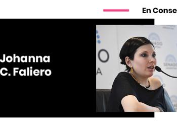 Johanna Faliero Legislación privacidad