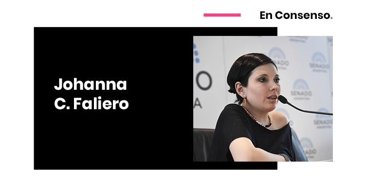 Johanna Faliero Legislation Data Protection